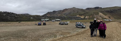 El camping en Landmannalaugar.