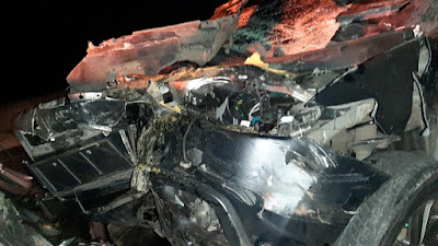Wakapolres Lampung Utara Alami Kecelakaan di Tol Natar