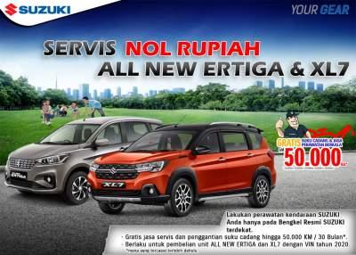 Harga Suzuki Ertiga Jakarta Agustus 2020