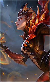 Karrie Dragon Queen Heroes Marksman of Skins Starlight V2