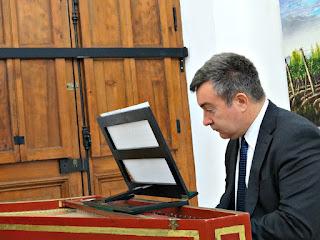 Mario Masera Toca Cravo, Archivo General de La Provincia (Mendoza)
