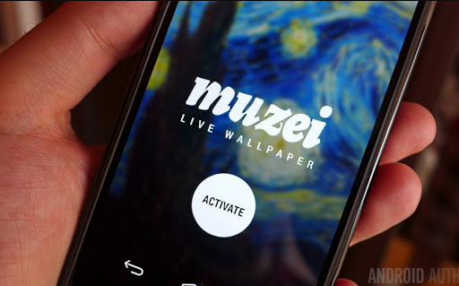 تطبيق Muzei Live Wallpaper