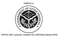 UPPSC 2361 Lecturer, Dentist, RO, ARO Recruitment