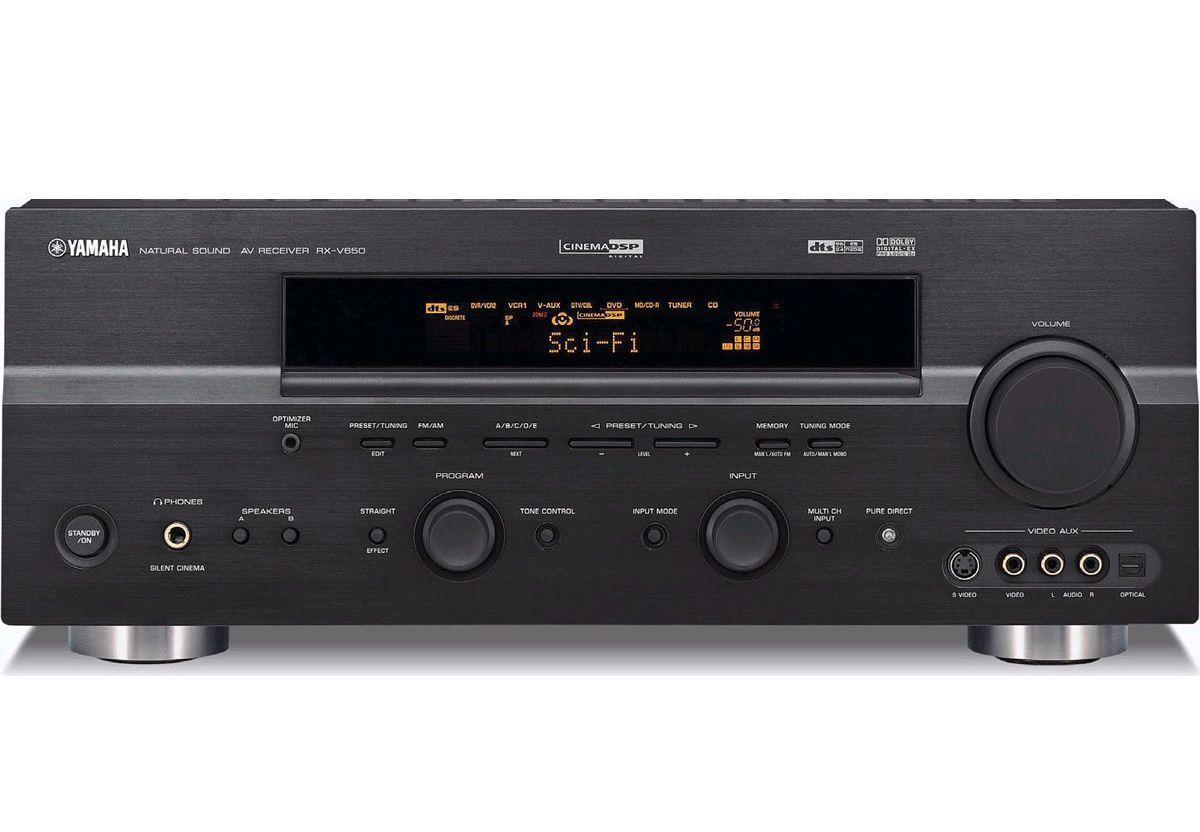 yamaha rx v650rds av receiver audiobaza. Black Bedroom Furniture Sets. Home Design Ideas