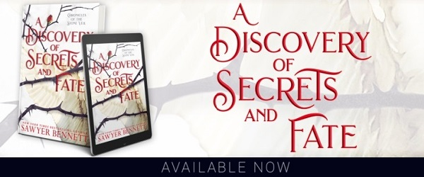 A Discovery of Secrets and Fate Available Now.