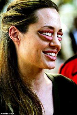 Hollywood Actress Anjolina Joli Funny photos