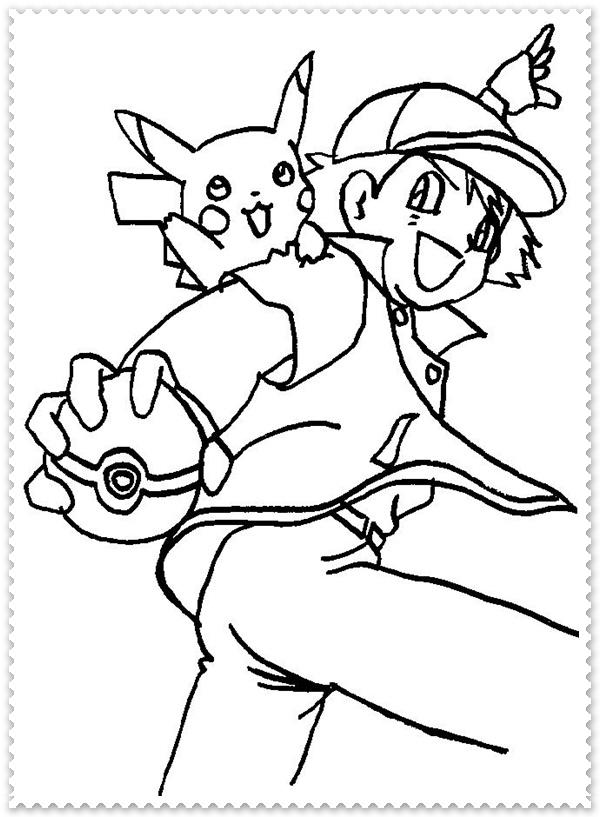Ausmalbilder zum Ausdrucken Pokemon