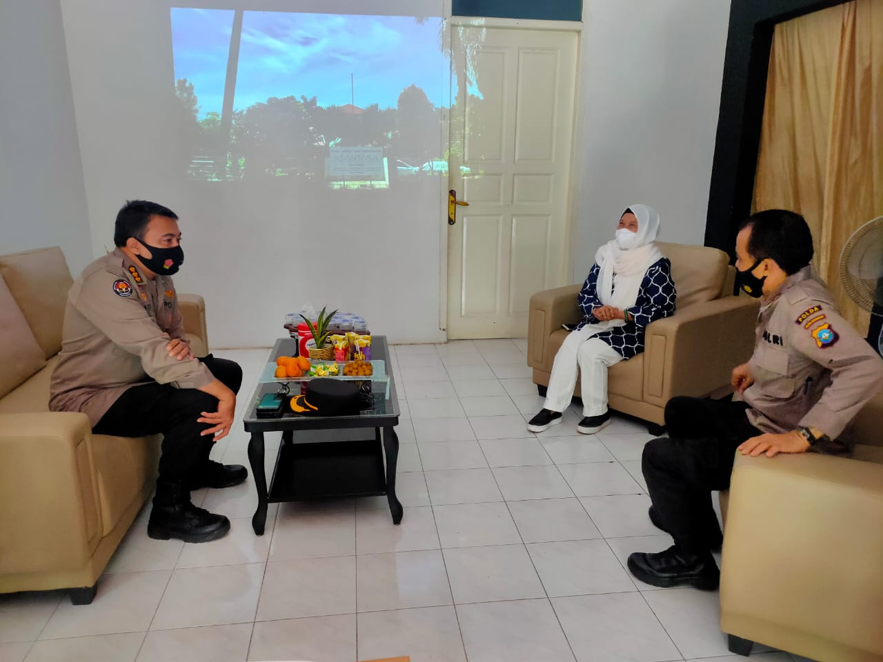 Pererat Silaturahmi dan Visit Media, Kabid Humas Polda Kepri Kunjungi  LKBN Antara Kepri