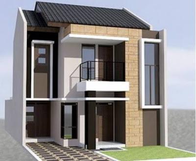Model Rumah Minimalis 2 Lantai Type 36 Modern