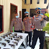 Antisipasi Penyalahgunaan, Propam Polrestabes Makassar Cek Senpi Dinas Polsek Tamalanrea