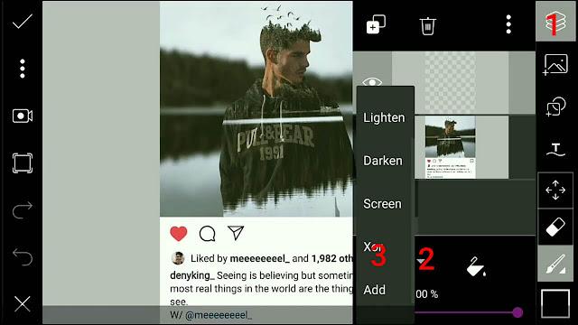 Cara Membuat Foto Efek 3D Instagram dengan Picsart | Picsart Editing