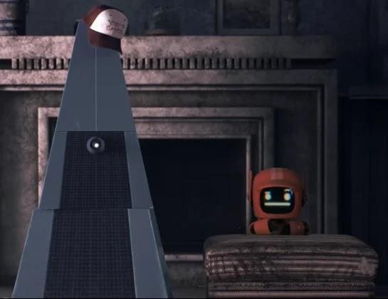 Les robots de Three Robots, d'après John Scalzi, sont très moqueurs