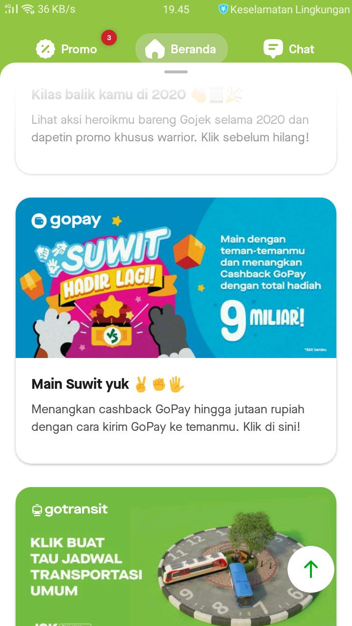 Main Suwit berhadiah Saldo Gopay