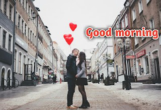 good morning kiss images for lover