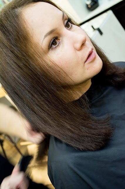 Эффект процедуры восстановления волос Pro Fiber от L'Oréal Professionnel