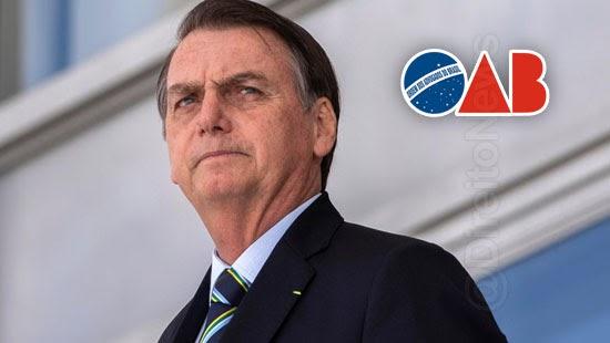 oab denuncia governo bolsonaro oea covid