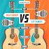 Right Handed vs Left Handed Guitar / Guitarist