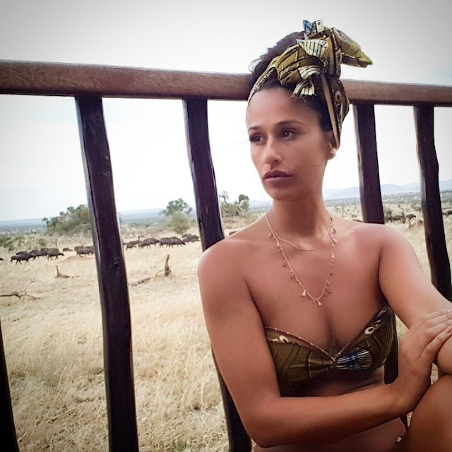 Rita Pereira enjoying Safari in Tanzania
