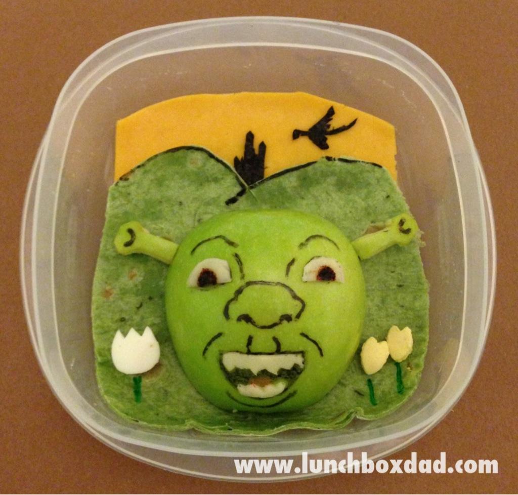 Lunchbox Dad Week 26 Shrek