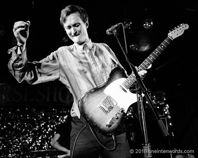 Ought at The Legendary Horseshoe Tavern on May 11, 2018 for the Audiotree North Launch Party at CMW Canadian Music Week Photo by John Ordean at One In Ten Words oneintenwords.com toronto indie alternative live music blog concert photography pictures photos