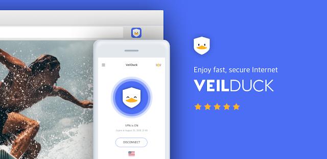 تحميل تطبيق فيلدك VPN للأندرويد  Veilduck VPN Apk الاصدار الاخير