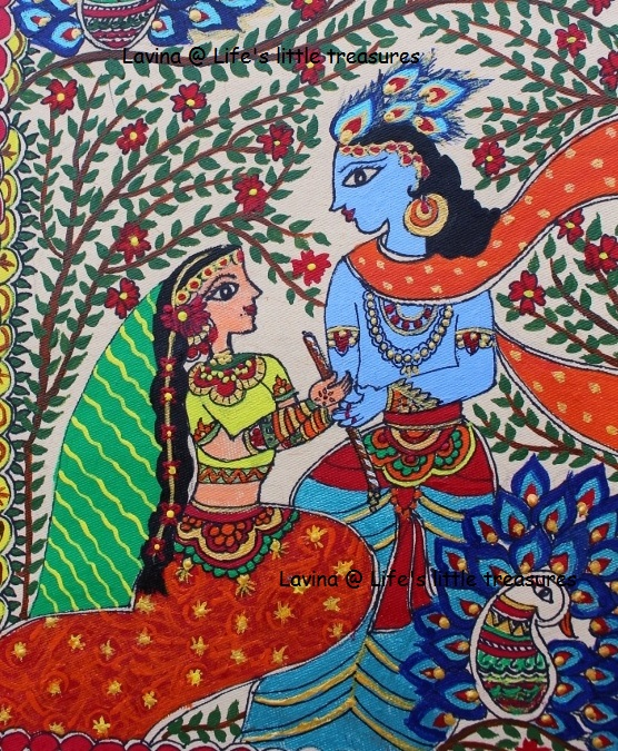 Life S Little Treasures Madhubani Mithila Painting