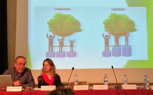 Durante la conferencia se resaltaron los valores de la Educación Pública
