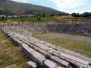 το Στάδιο στην Αρχαία Μεσσήνη