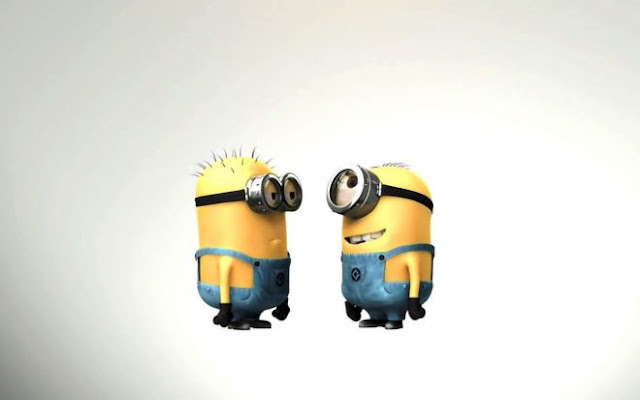 Beautiful Two Pampered Minions HD Wallpapers