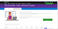 6.Visual Studio Team Services Pricing