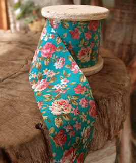 NEW products from SRM!  Day #4 - Ribbons, Lace & Twine! - #floralribbon #ribbon #vintage #floral