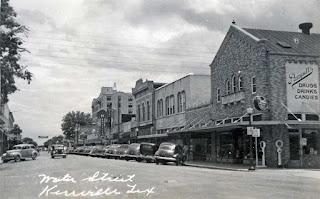 700 Block of Water Street, Kerrville, circa 1938