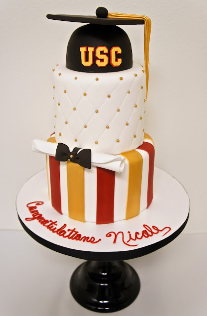 HAND PAINTED CAKES AND GRADUATION CAKES - BURBANK CAKE BAKERY