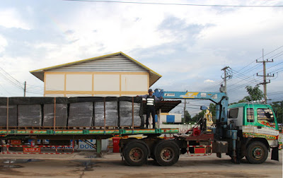 Buriram Home Builders Roof Tile Delivery Truck