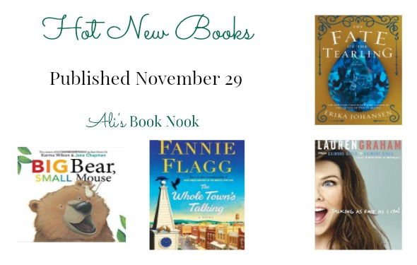 hot new books published nov 29