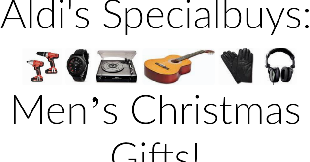 Men's Christmas Gifts From Aldi 2015 ..