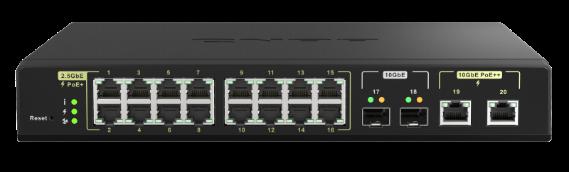 QNAP Lança o Switch Gerido QSW-M2116P-2T2S