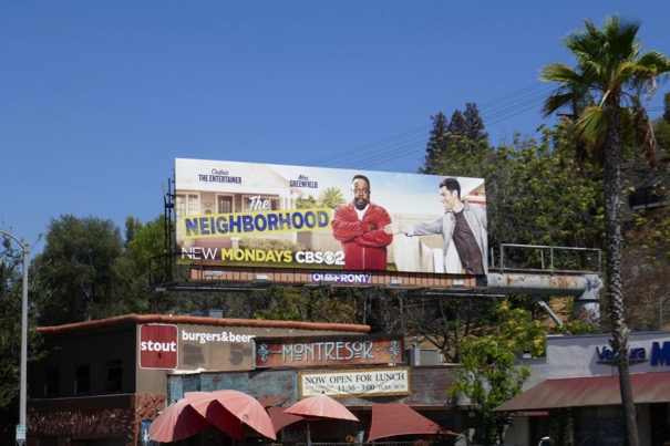 Neighborhood series billboard