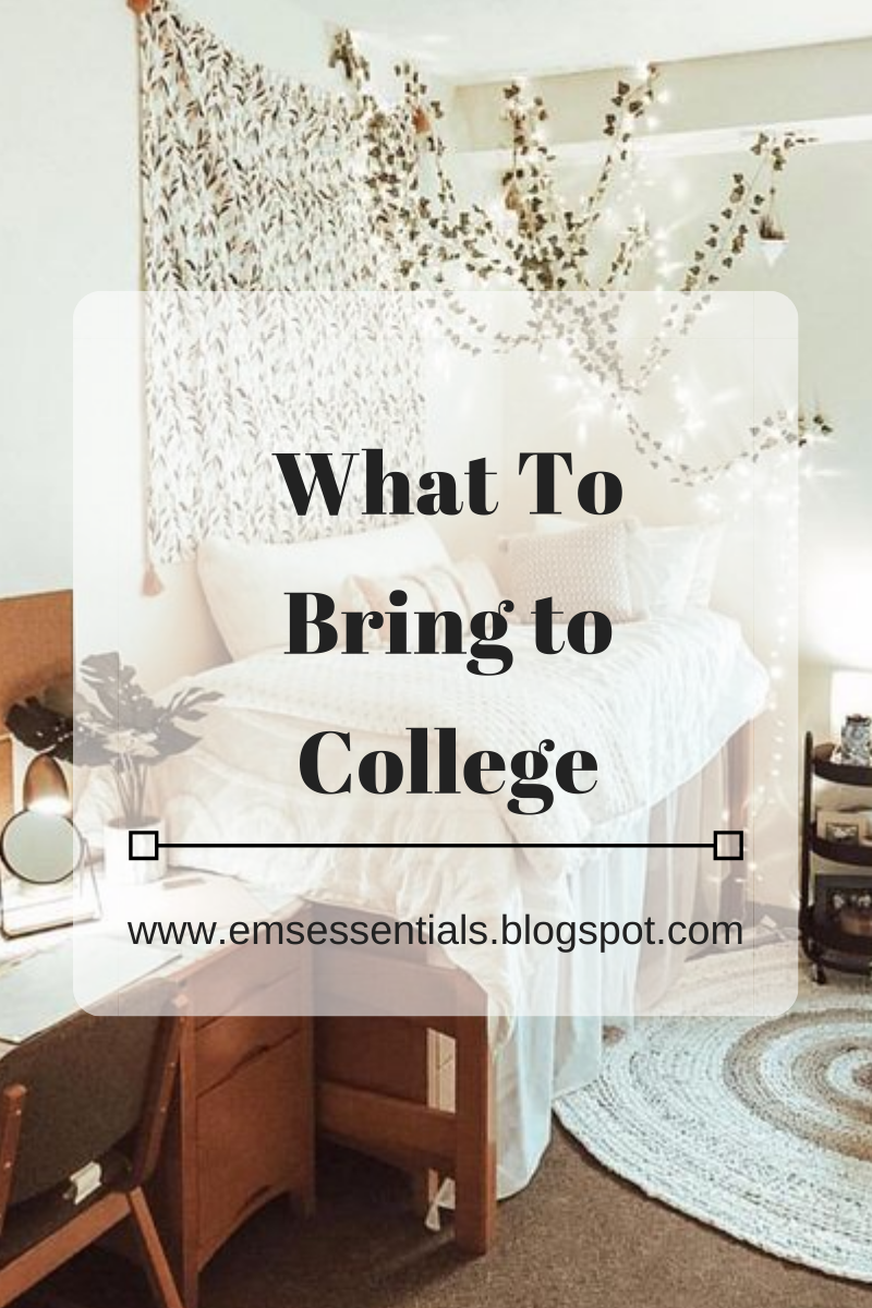 what you need to bring to college 2020 college packing list of essentials for what to bring to college 2020