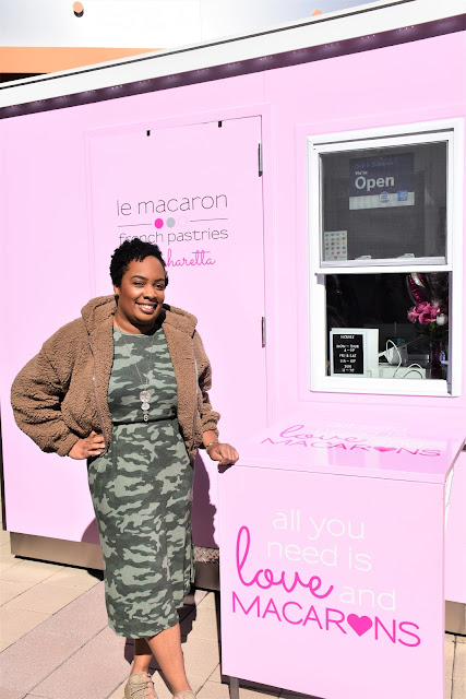 Le Macaron Opens First National Outdoor Kiosk of French Pastries at Alpharetta's Avalon