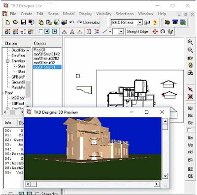 tad_designer_software desain arsitektur gratis terbaik untuk windows