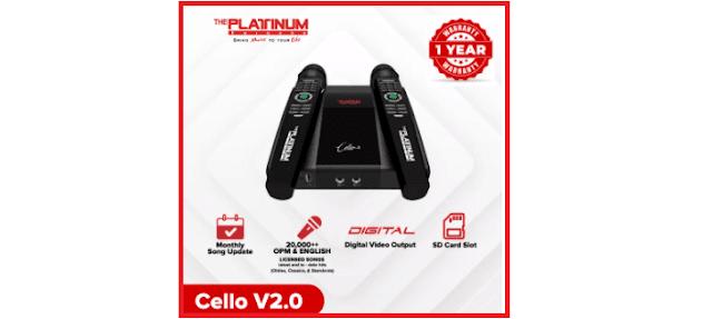 Platinum The Platinum Karaoke Cello