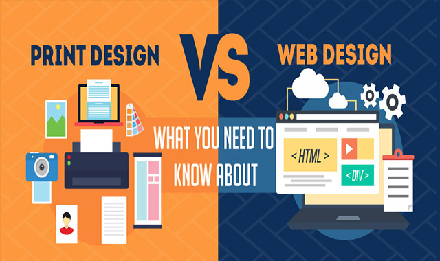 Web Design vs. Print Design – What You Need to Know About