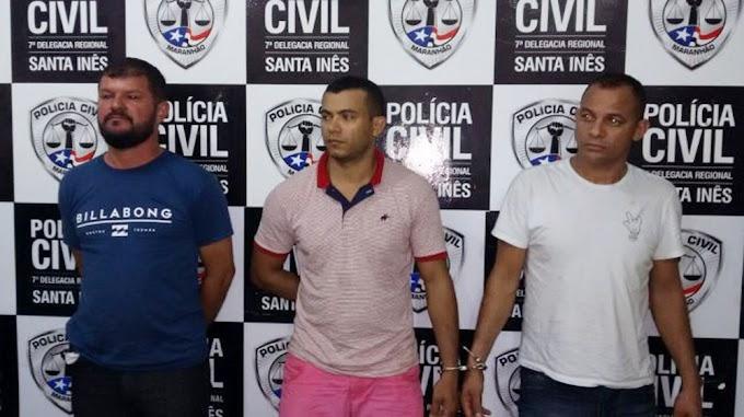 Policial e mais dois são detidos com fuzis em Bela Vista do Maranhão