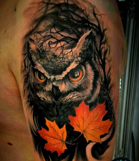 15 Mysterious Owl Tattoo Designs Meanings: 110+ Cute Owl Tattoos For Men (2019)