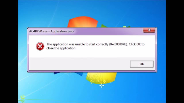 "Sửa là lỗi ""0xc000007b trên Windows""."