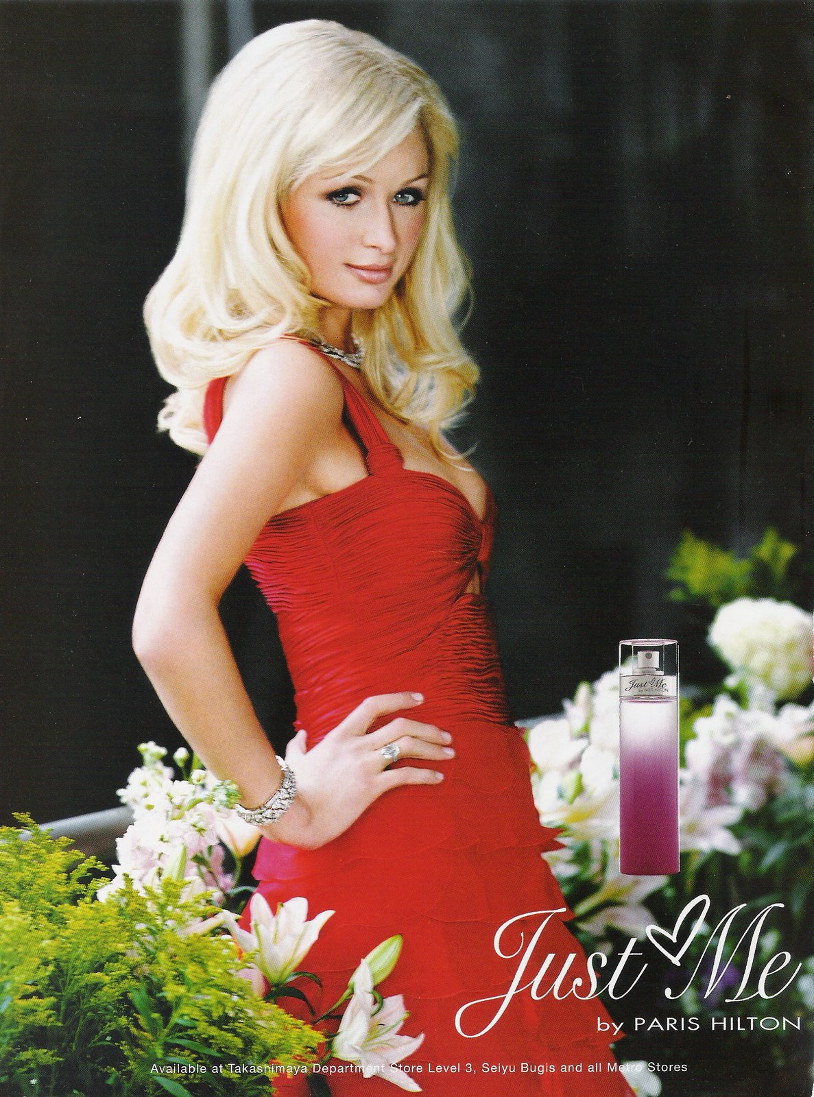 The Face of Beauty - Celebrity Fragrance: Just Me Perfume ...