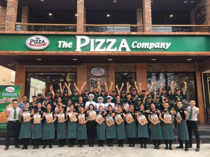 Mẫu đồng phục nhân viên The Pizza Company