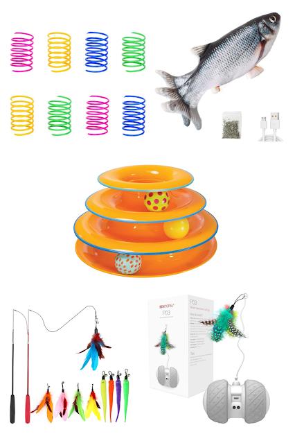 Amazon cat toys