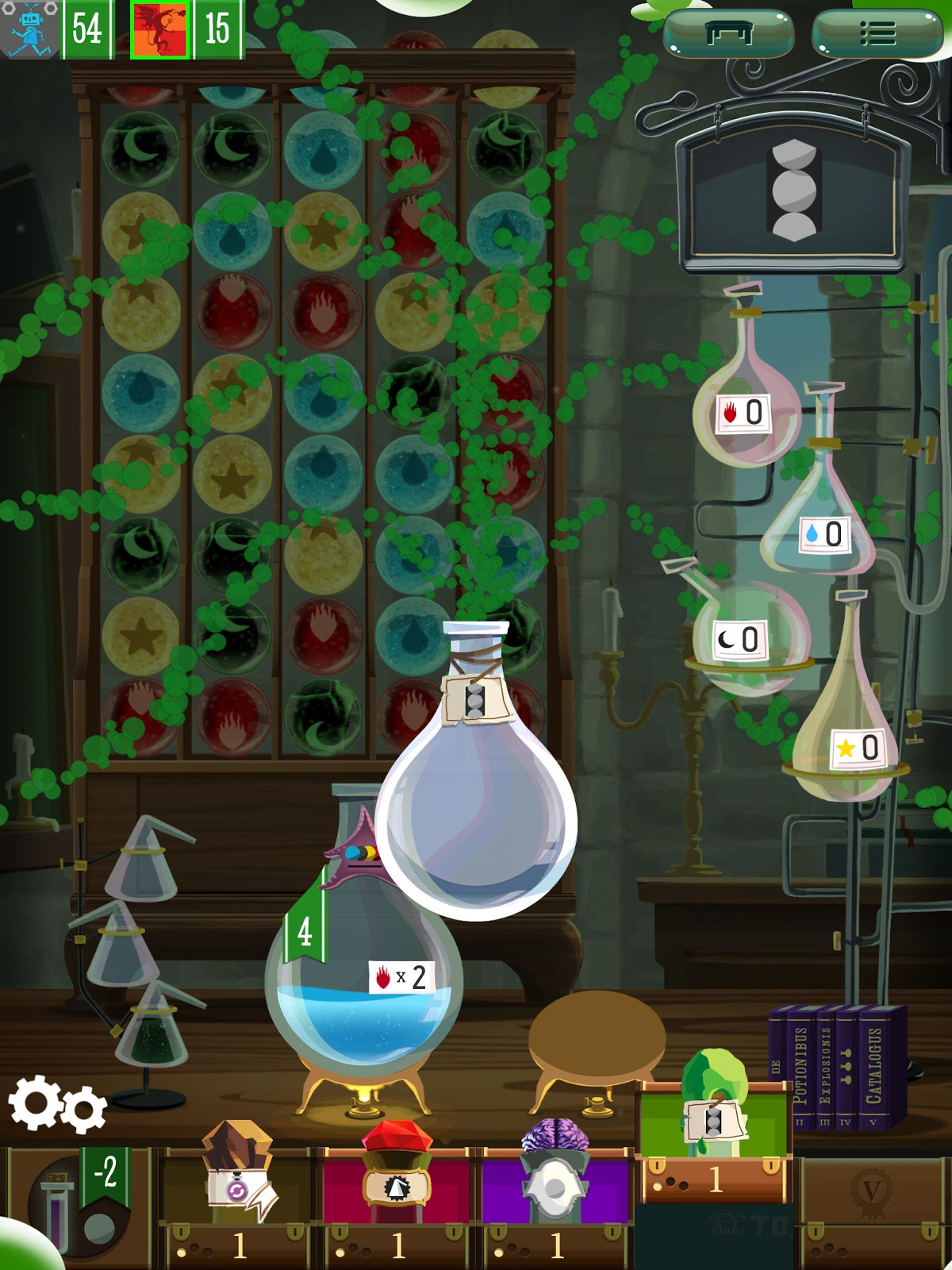Potion Explosion app review power up